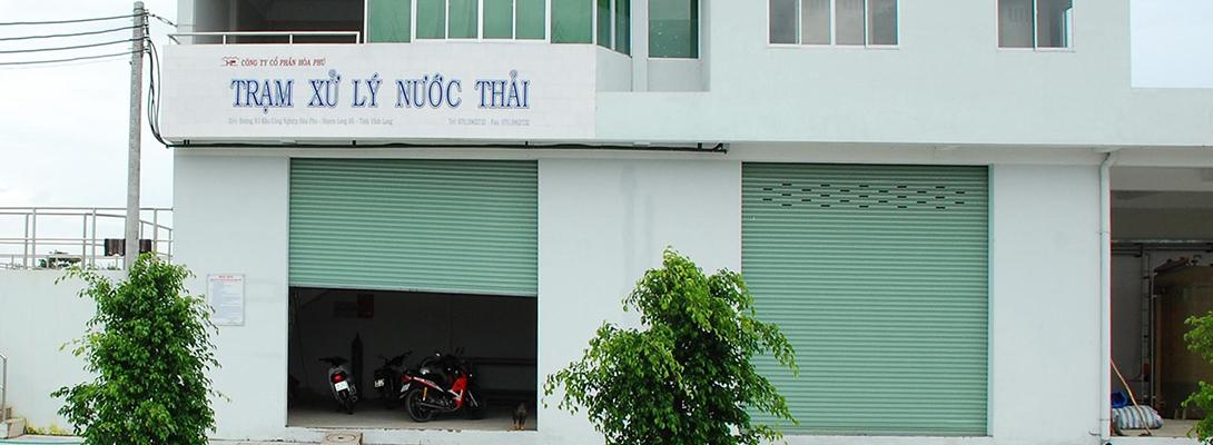 Banner trạm xử lý nước thải